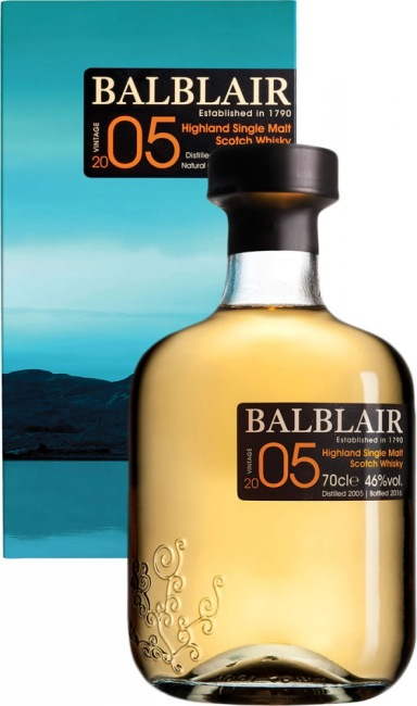Balblair Highland Single Malt Scotch Whisky VINTAGE 2005