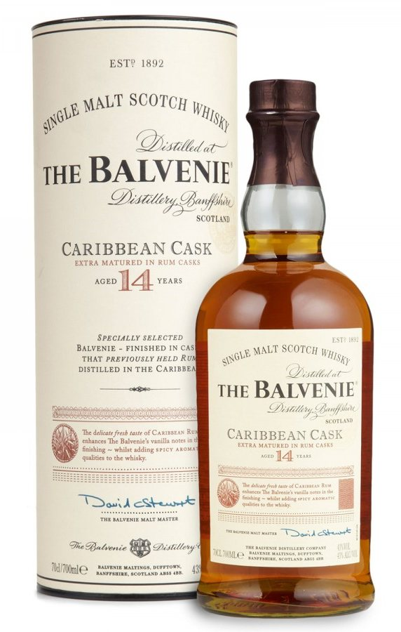 Balvenie 14 Years Old Caribbean Cask