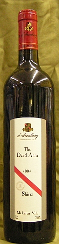d´Arenberg The Dead Arm Shiraz