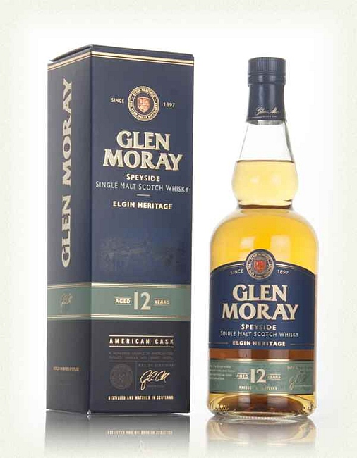 Glen Moray 12YO + kutija