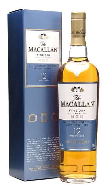 Macallan Fine Oak 12 Years Old