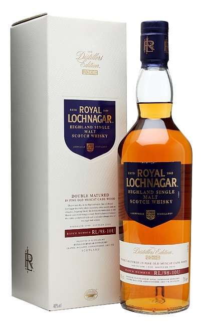 Royal Lochnagar 1998 Distillers edition + kutija