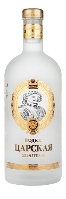 Zarskaya Gold Vodka